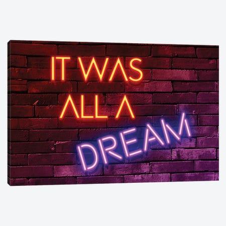 It Was All A Dream Canvas Print #PHD1001} by Philippe Hugonnard Art Print