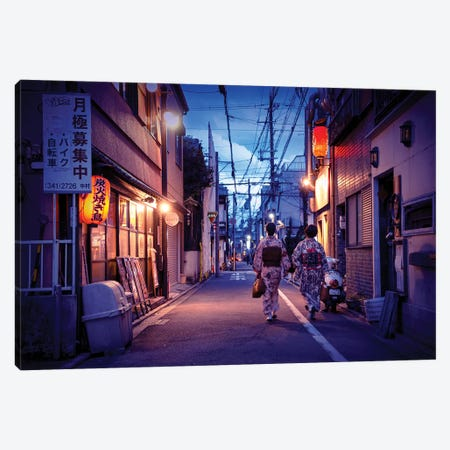 Back From Work Canvas Print #PHD1008} by Philippe Hugonnard Canvas Print