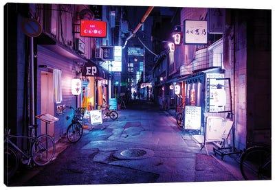Night Bar Canvas Art Print