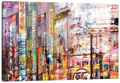 Akihabara Manga Canvas Art Print