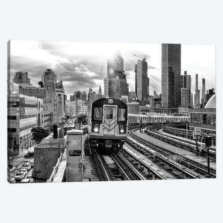 Line 7 Subway Canvas Print #PHD1047} by Philippe Hugonnard Canvas Art
