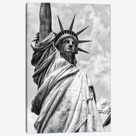 Statue Of Liberty Canvas Print #PHD1050} by Philippe Hugonnard Canvas Art