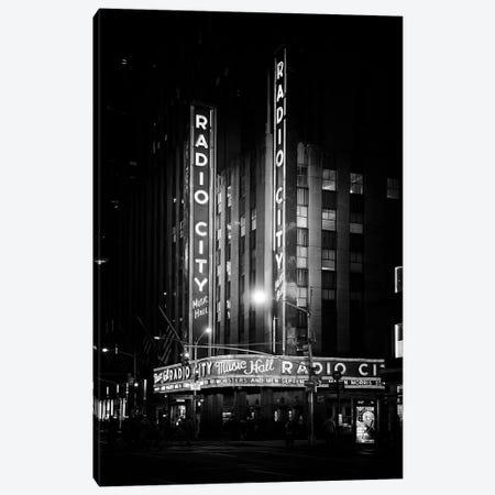 The Radio City Music Hall Canvas Print #PHD1062} by Philippe Hugonnard Canvas Art Print