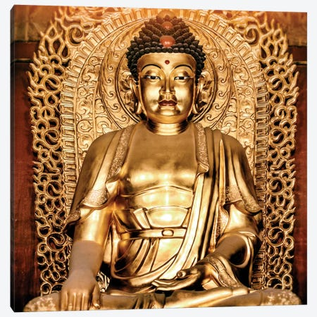 Buddha I Canvas Print #PHD106} by Philippe Hugonnard Canvas Art