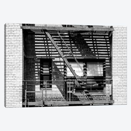 NYC Fire Escape Canvas Print #PHD1075} by Philippe Hugonnard Canvas Art Print