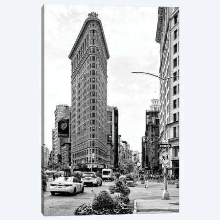 Flatiron Building Canvas Print #PHD1079} by Philippe Hugonnard Canvas Artwork