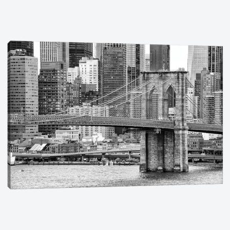 Brooklyn Bridge 3-Piece Canvas #PHD1082} by Philippe Hugonnard Canvas Art Print