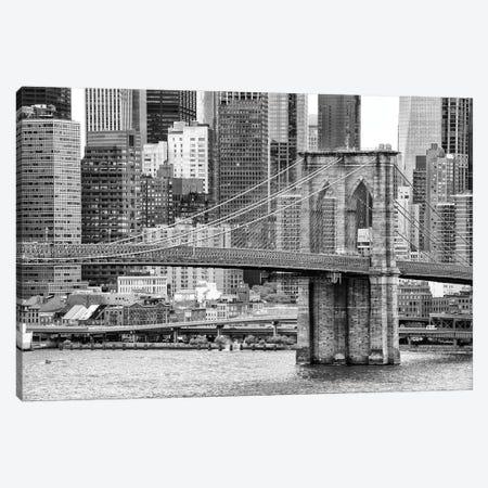 Brooklyn Bridge Canvas Print #PHD1082} by Philippe Hugonnard Canvas Art Print