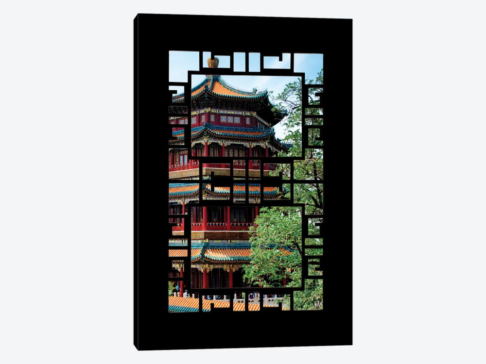 China - Window View I by Philippe Hugonnard 1-piece Art Print