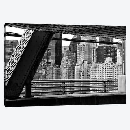 Between Two Bridges Canvas Print #PHD1090} by Philippe Hugonnard Canvas Wall Art