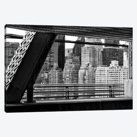 Between Two Bridges 3-Piece Canvas #PHD1090} by Philippe Hugonnard Canvas Wall Art