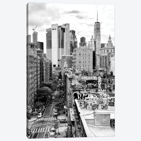 View Of The Roofs Canvas Print #PHD1093} by Philippe Hugonnard Canvas Wall Art