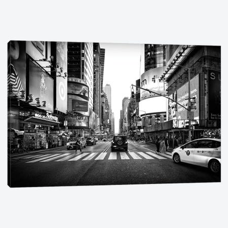 Times Square Canvas Print #PHD1094} by Philippe Hugonnard Canvas Print