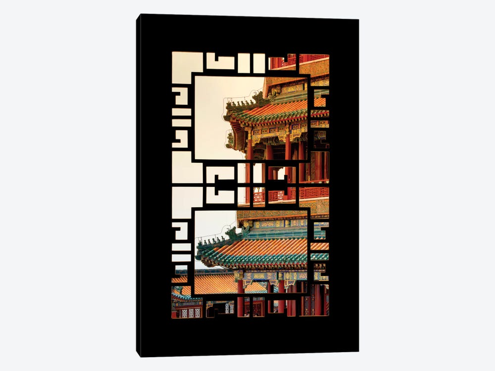China - Window View II by Philippe Hugonnard 1-piece Canvas Wall Art
