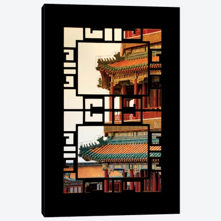 China - Window View II Canvas Print #PHD109} by Philippe Hugonnard Canvas Art Print