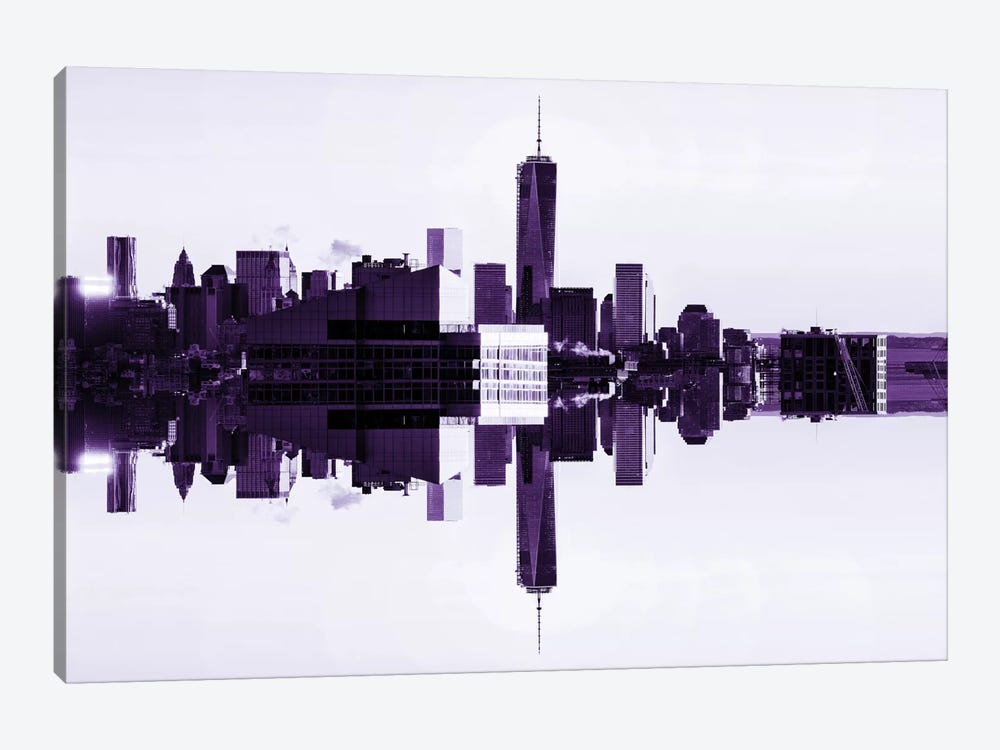 Double Sided - One World Trade Center by Philippe Hugonnard 1-piece Canvas Art Print