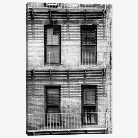 NY Building Facade Canvas Print #PHD1108} by Philippe Hugonnard Canvas Wall Art