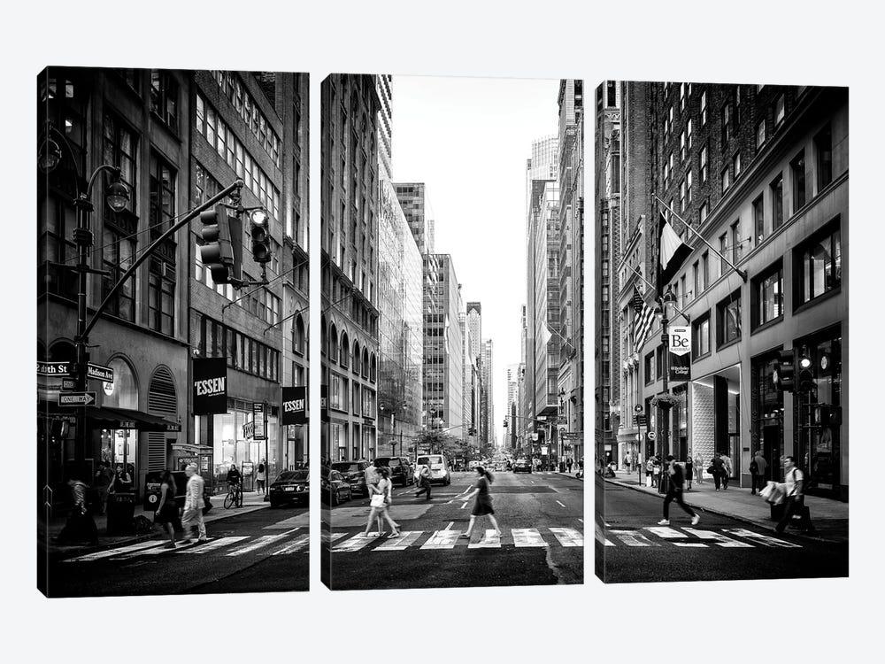 Madison Avenue by Philippe Hugonnard 3-piece Canvas Art