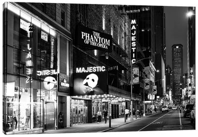 Phantom Of The Opera Canvas Art Print