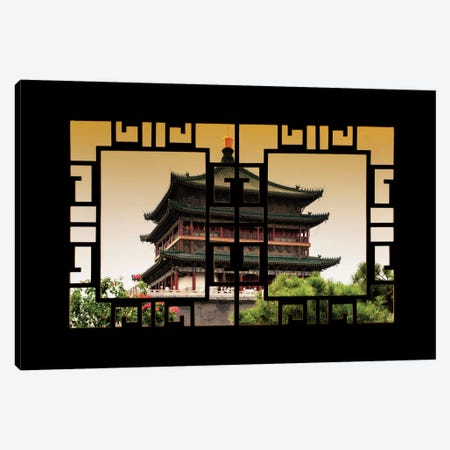 China - Window View IV Canvas Print #PHD111} by Philippe Hugonnard Canvas Art