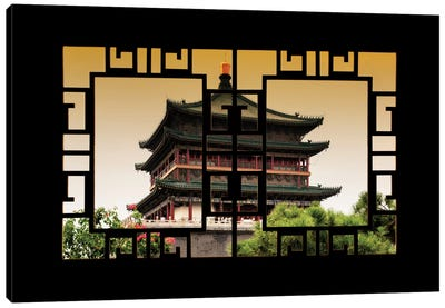 China - Window View IV Canvas Art Print