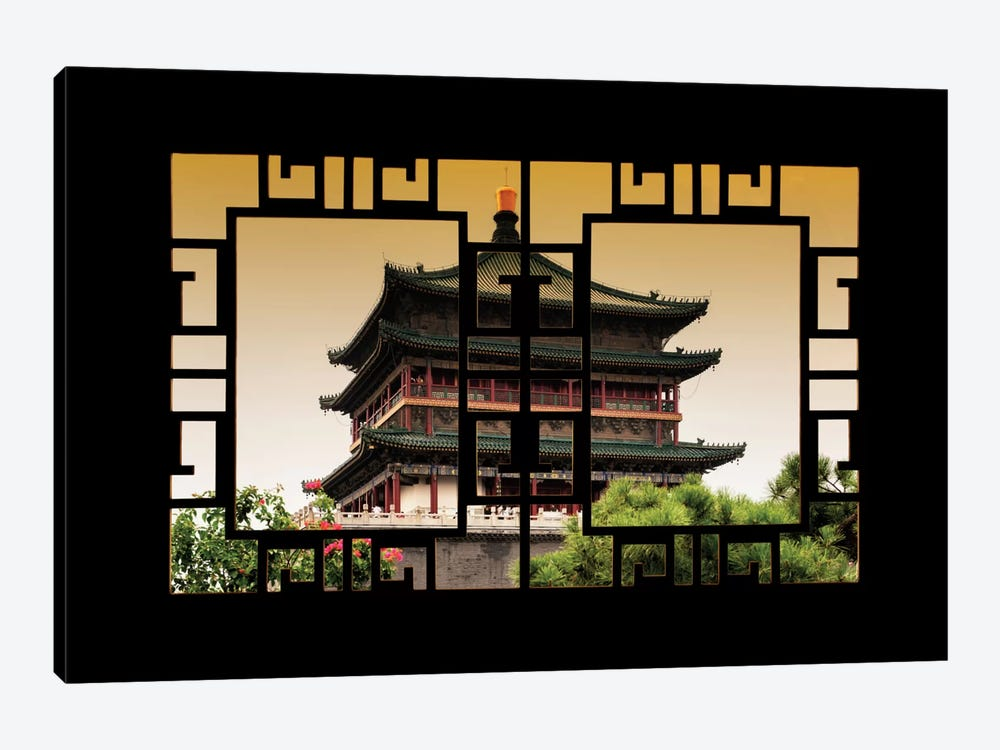 China - Window View IV by Philippe Hugonnard 1-piece Art Print