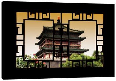 China - Window View IV Canvas Art Print