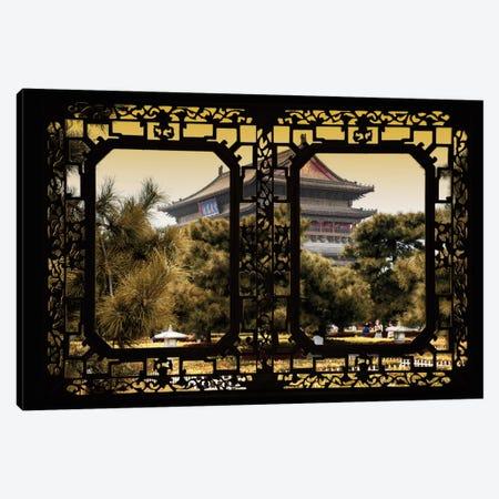 China - Window View V Canvas Print #PHD112} by Philippe Hugonnard Canvas Artwork