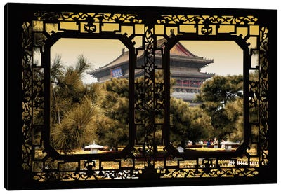 China - Window View V Canvas Art Print