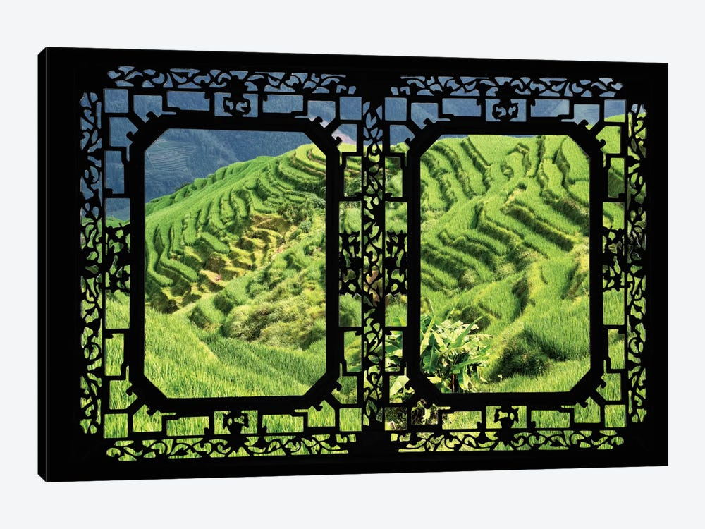 China - Window View VI by Philippe Hugonnard 1-piece Art Print
