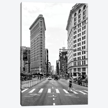 The Flatiron Building Canvas Print #PHD1146} by Philippe Hugonnard Canvas Print