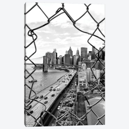 Hole In The Fence Canvas Print #PHD1147} by Philippe Hugonnard Canvas Print