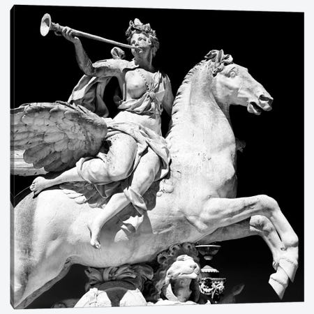 Equestrian Statue Canvas Print #PHD114} by Philippe Hugonnard Art Print