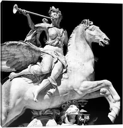 Equestrian Statue Canvas Print #PHD114