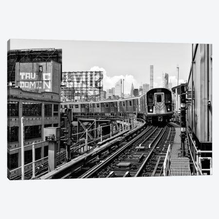 Queens Subway Canvas Print #PHD1157} by Philippe Hugonnard Canvas Artwork