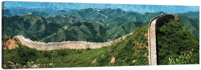 Great Wall of China I Canvas Print #PHD116