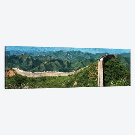 Great Wall of China I 3-Piece Canvas #PHD116} by Philippe Hugonnard Art Print