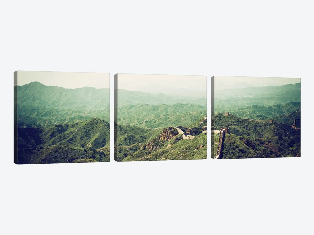 Great Wall of China II by Philippe Hugonnard 3-piece Canvas Print