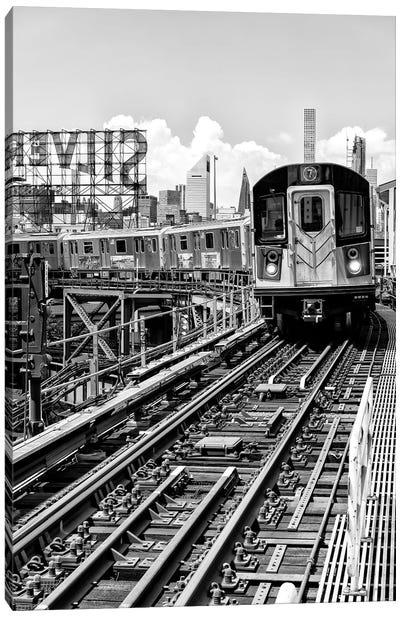 Line 7 Queens Canvas Art Print