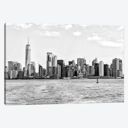 New York Skyline Canvas Print #PHD1188} by Philippe Hugonnard Canvas Artwork
