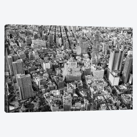 New York Sky View Canvas Print #PHD1189} by Philippe Hugonnard Canvas Art