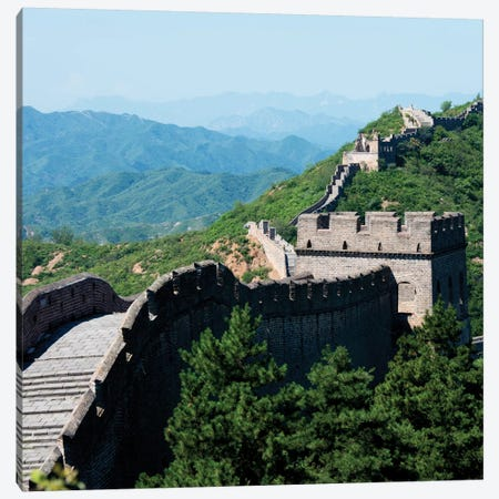 Great Wall of China III Canvas Print #PHD118} by Philippe Hugonnard Canvas Wall Art