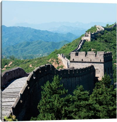 Great Wall of China III Canvas Print #PHD118