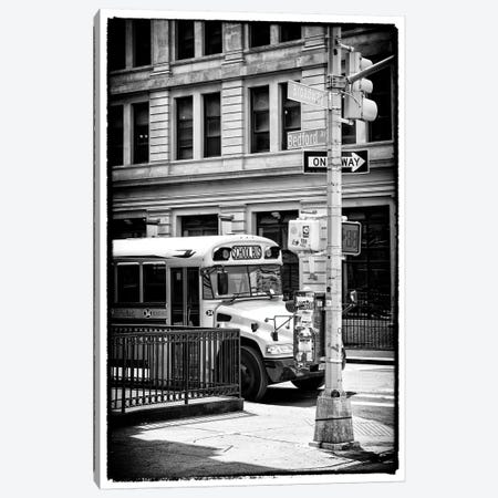 School Bus Canvas Print #PHD1196} by Philippe Hugonnard Canvas Artwork
