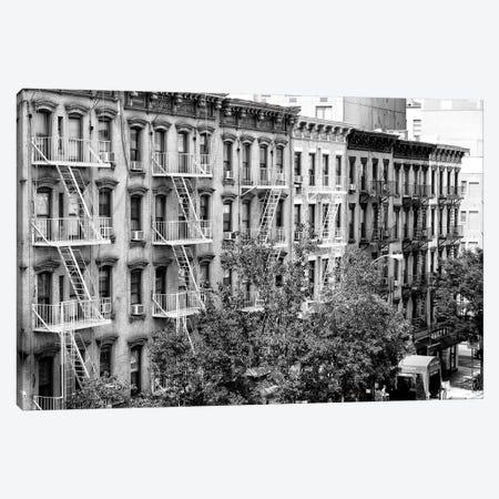 New York Facades Canvas Print #PHD1199} by Philippe Hugonnard Art Print