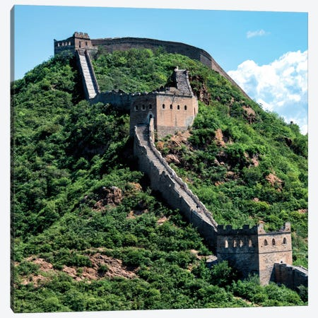 Great Wall of China IV Canvas Print #PHD119} by Philippe Hugonnard Canvas Art