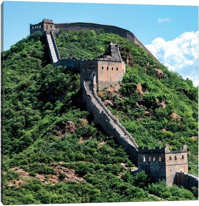 Great Wall of China IV Canvas Print #PHD119