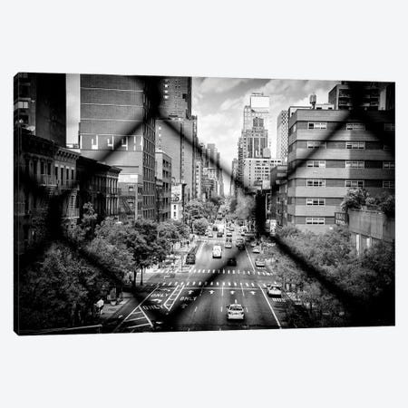 Between The Mesh Of The Fence Canvas Print #PHD1200} by Philippe Hugonnard Canvas Print