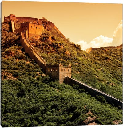 Great Wall of China V Canvas Print #PHD120