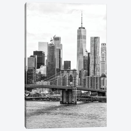 New York Skyscrapers Canvas Print #PHD1216} by Philippe Hugonnard Art Print